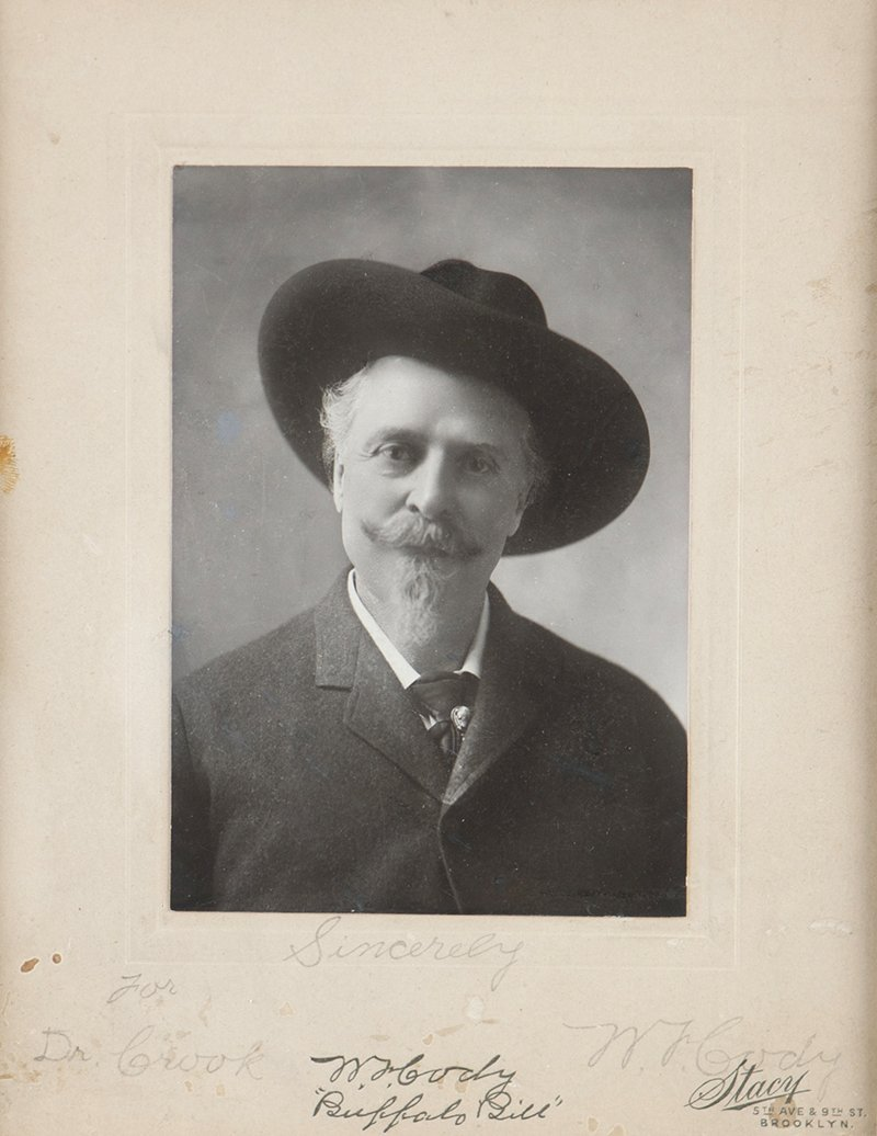 Signed photograph of William F. ''Buffalo Bill'' Cody,