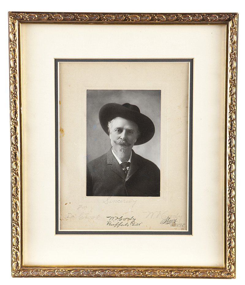 Signed photograph of William F. ''Buffalo Bill'' Cody, - 2