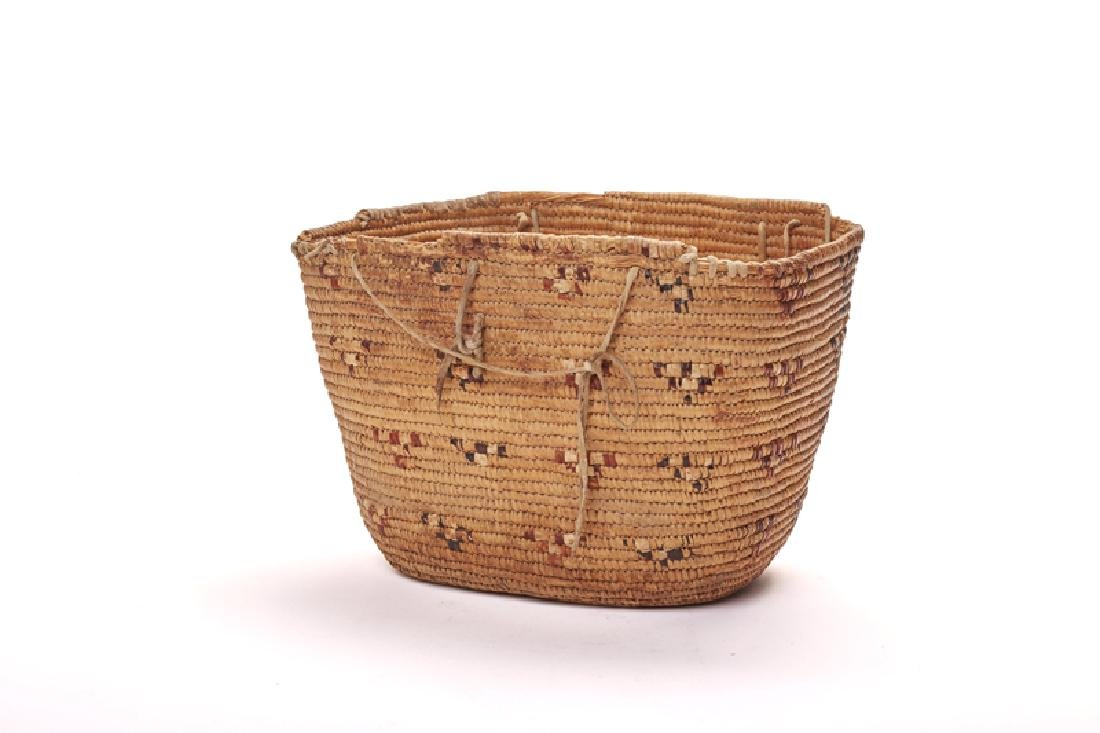 Five Pacific Northwest Coast Native American baskets - 2
