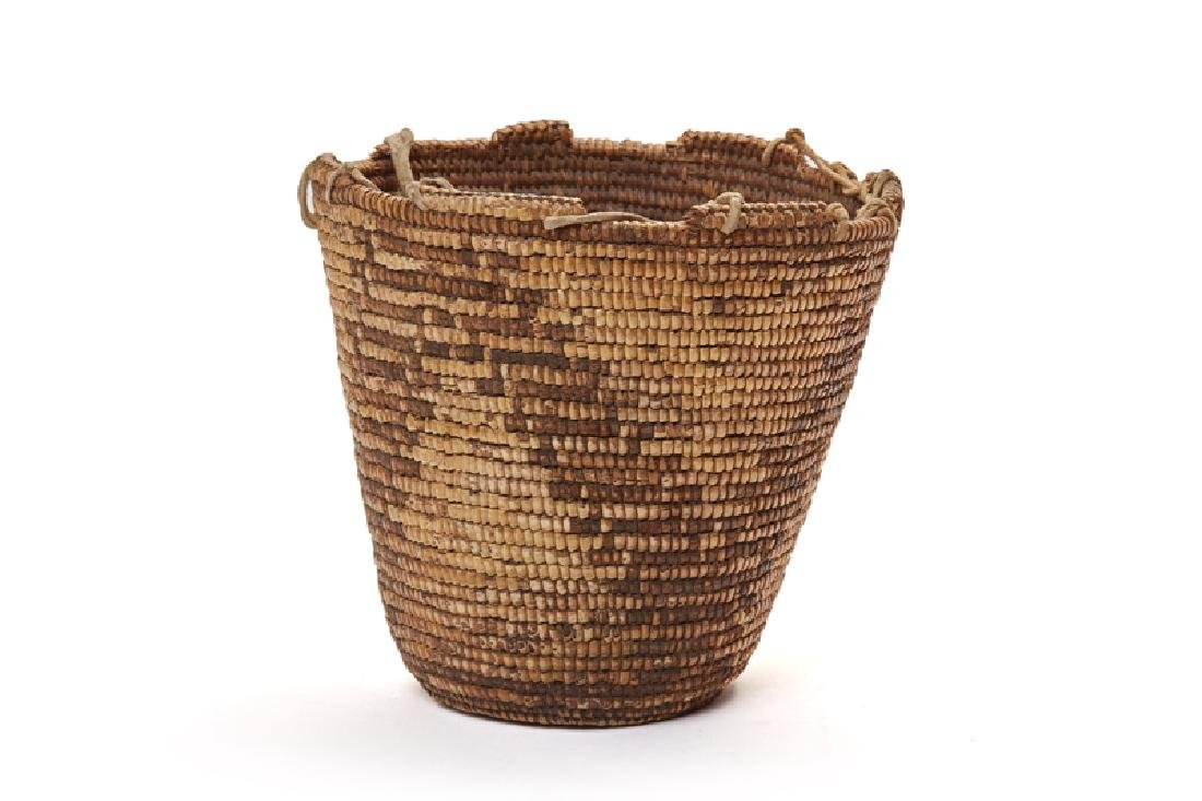 Five Pacific Northwest Coast Native American baskets - 3