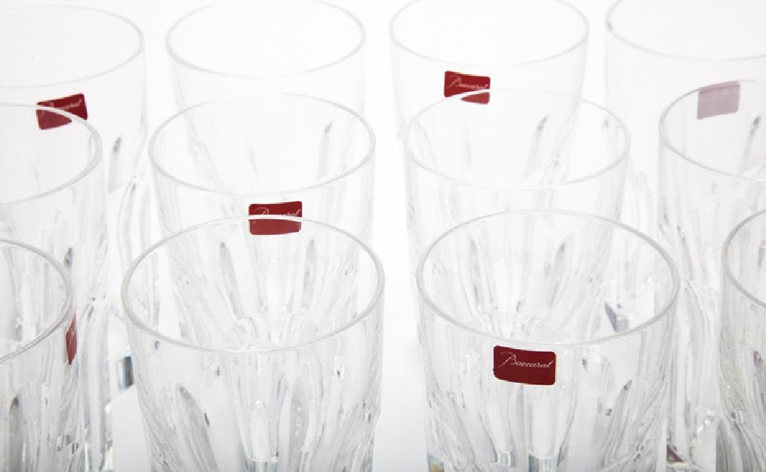 A group of Baccarat ''Harcourt'' crystal glassware - 2