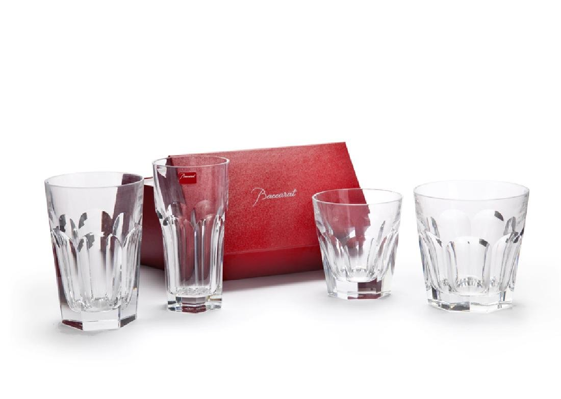 A group of Baccarat ''Harcourt'' crystal glassware - 3