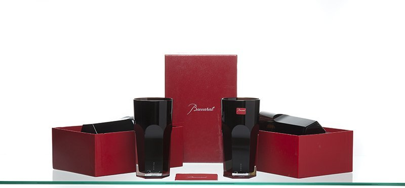 Eight Baccarat ''Darkside Black Angel, Harcourt''