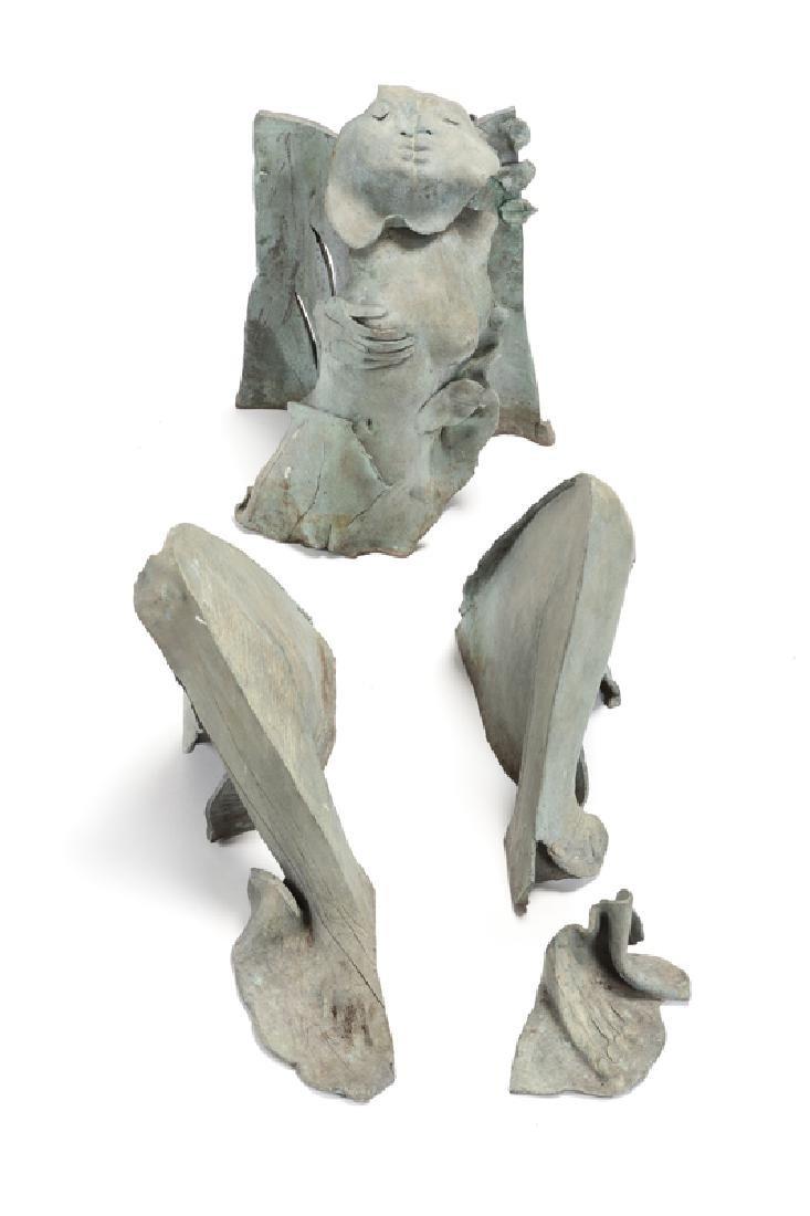 A Contemporary bronze figurative sculpture - 2