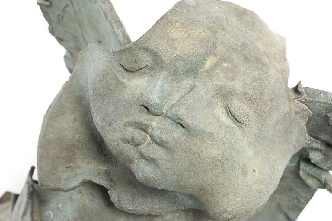A Contemporary bronze figurative sculpture - 4