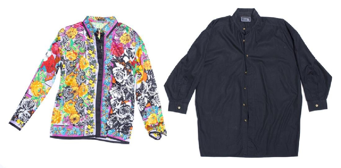 A group of Versace men's and women's clothing - 3
