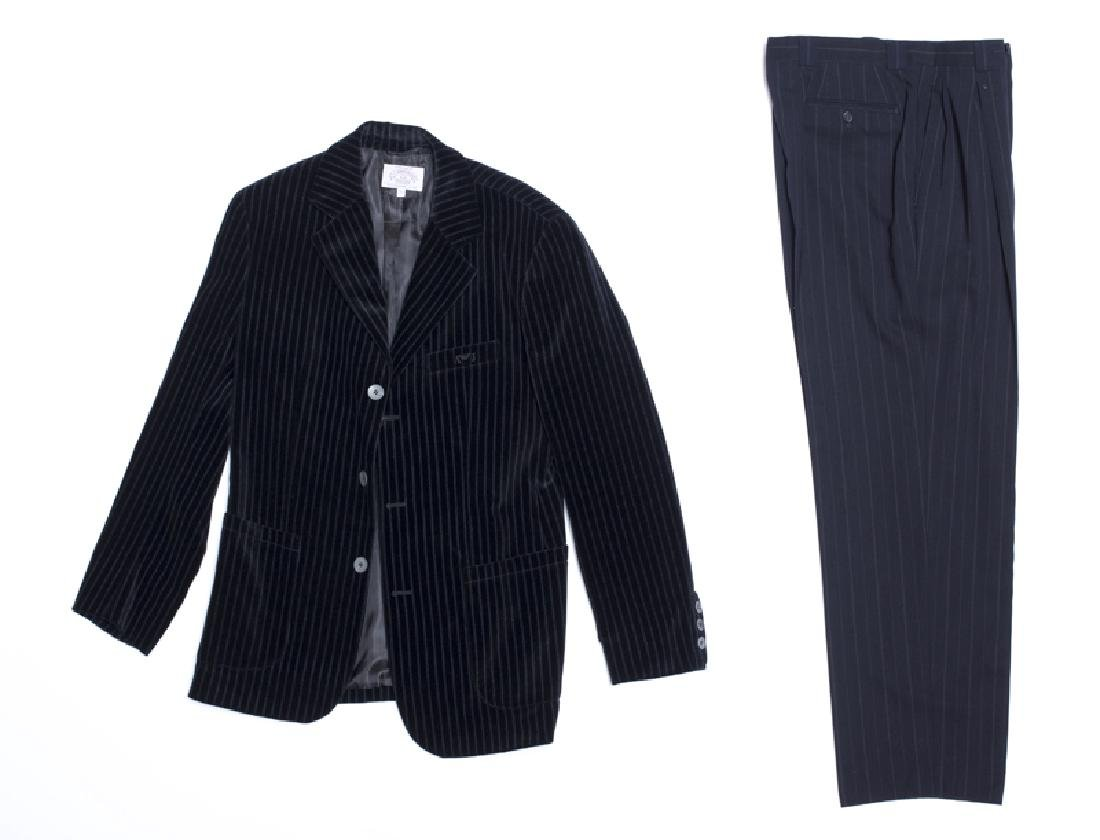 A group of Armani men's clothing