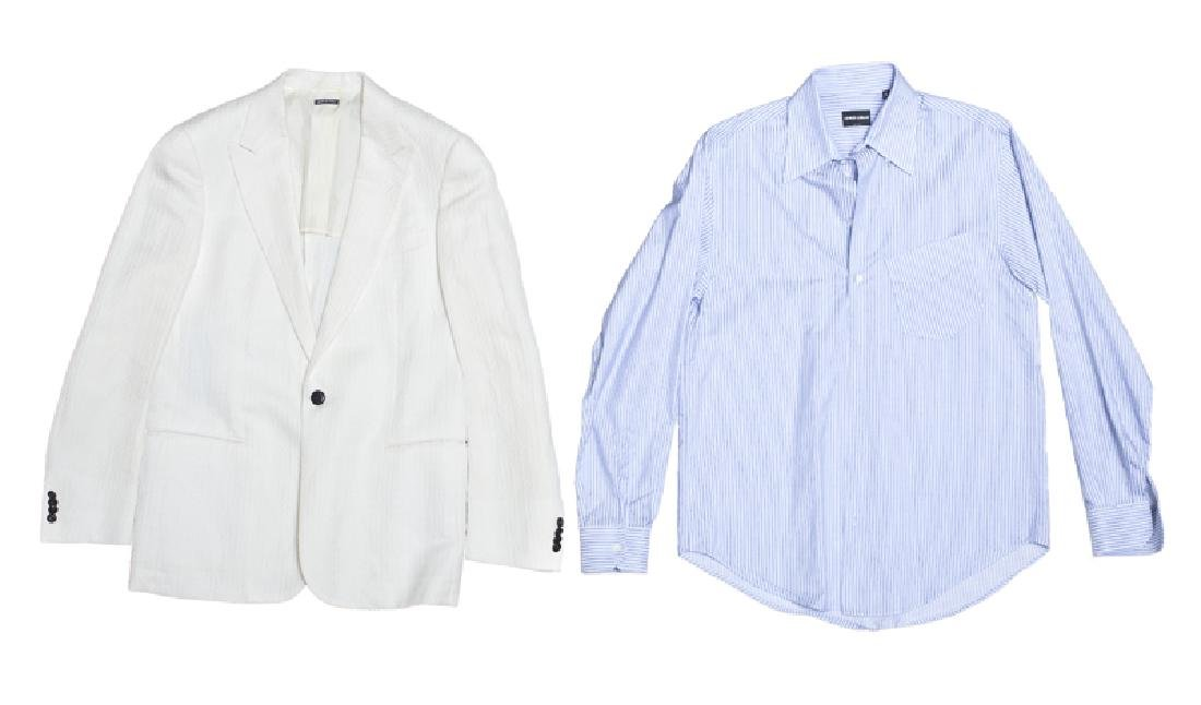 A group of Armani men's clothing - 2