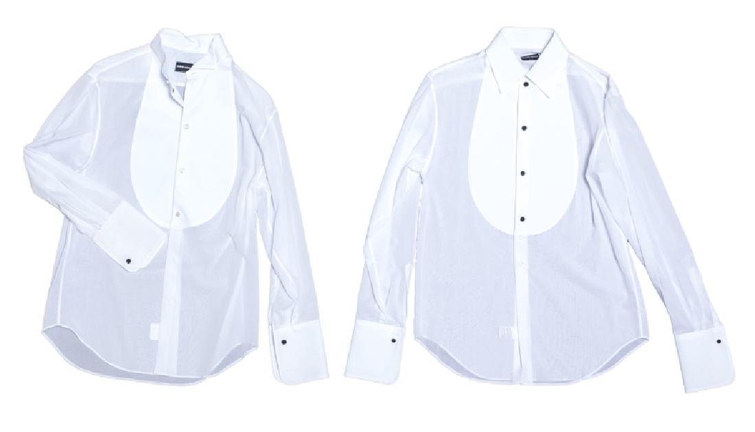 A group of ten Armani shirts - 5