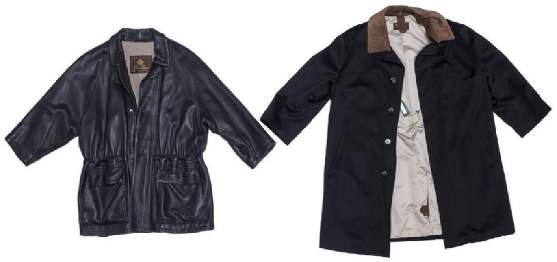Two Loro Piana men's coats