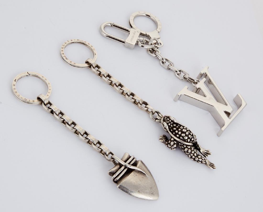Three designer keychains, Kieselstein-Cord and Louis - 2