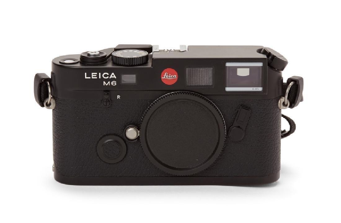 A Leica M6 TTL camera body