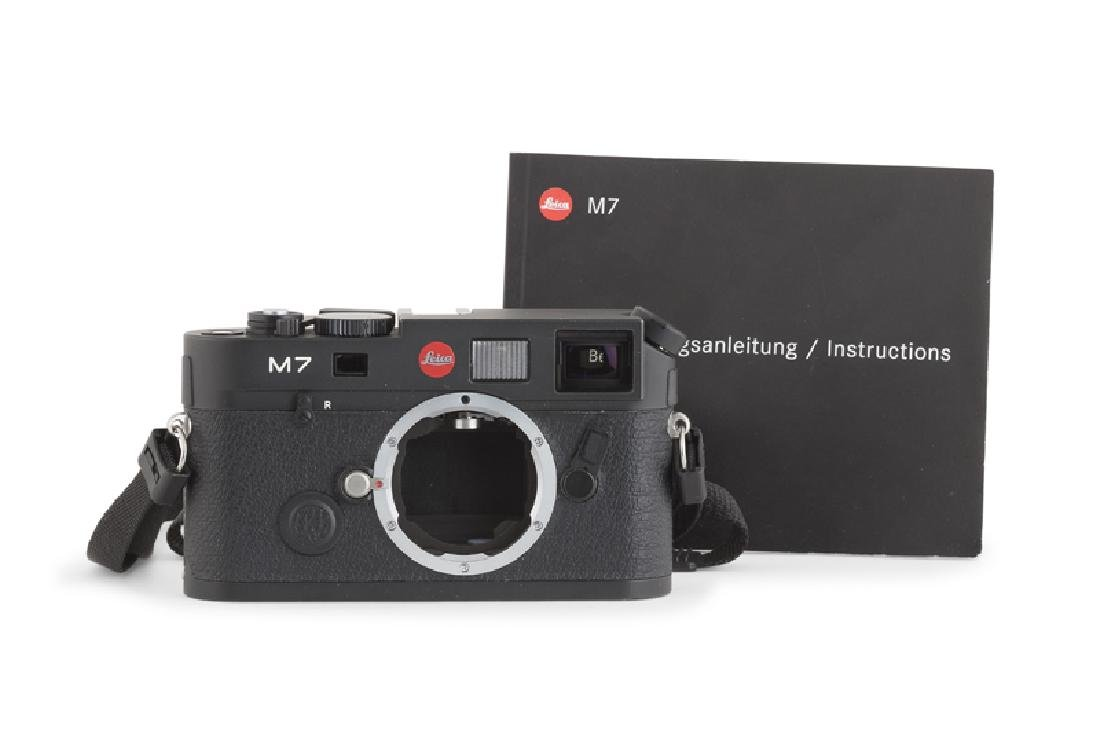 A Leica M7 camera body