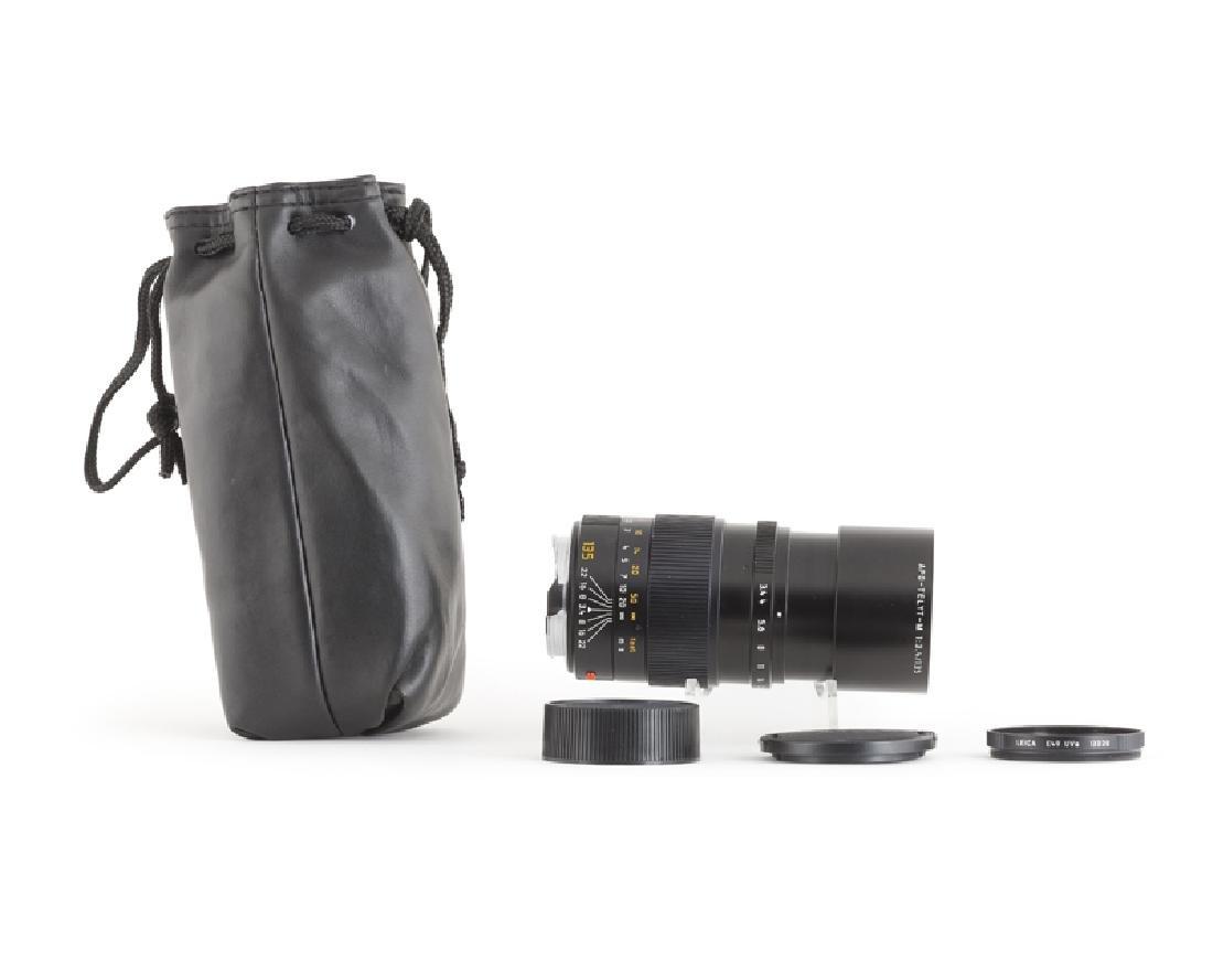 A Leica 135mm f/3.4 APO Telyt-M lens