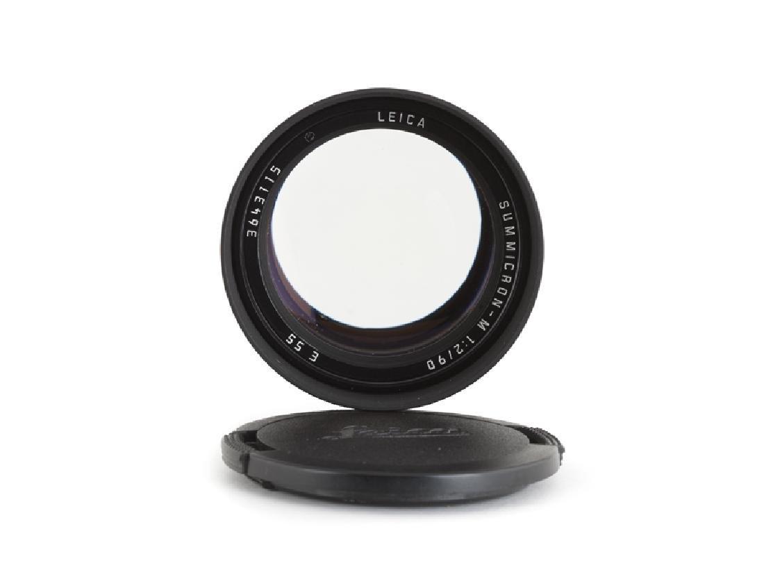 A Leica 90mm f/2 Summichron-M lens - 3