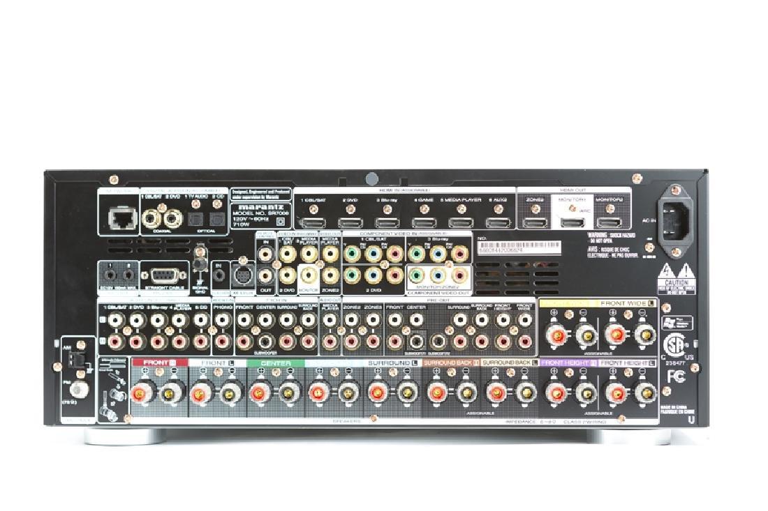 A Marantz SR7008 receiver with Tripp Lite 1500 LCD - 2