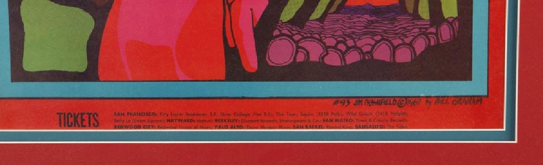 Bill Graham Fillmore Auditorium Poster by Jim - 3