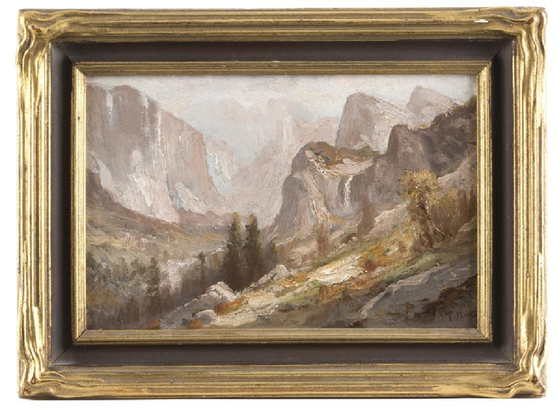 Thomas Hill (1829 - 1908 San Francisco, CA) - 2