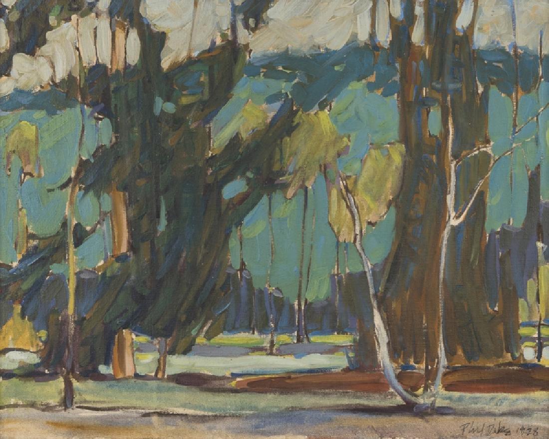 Phil Latimer Dike N.A. (1906 - 1990 Claremont, CA)