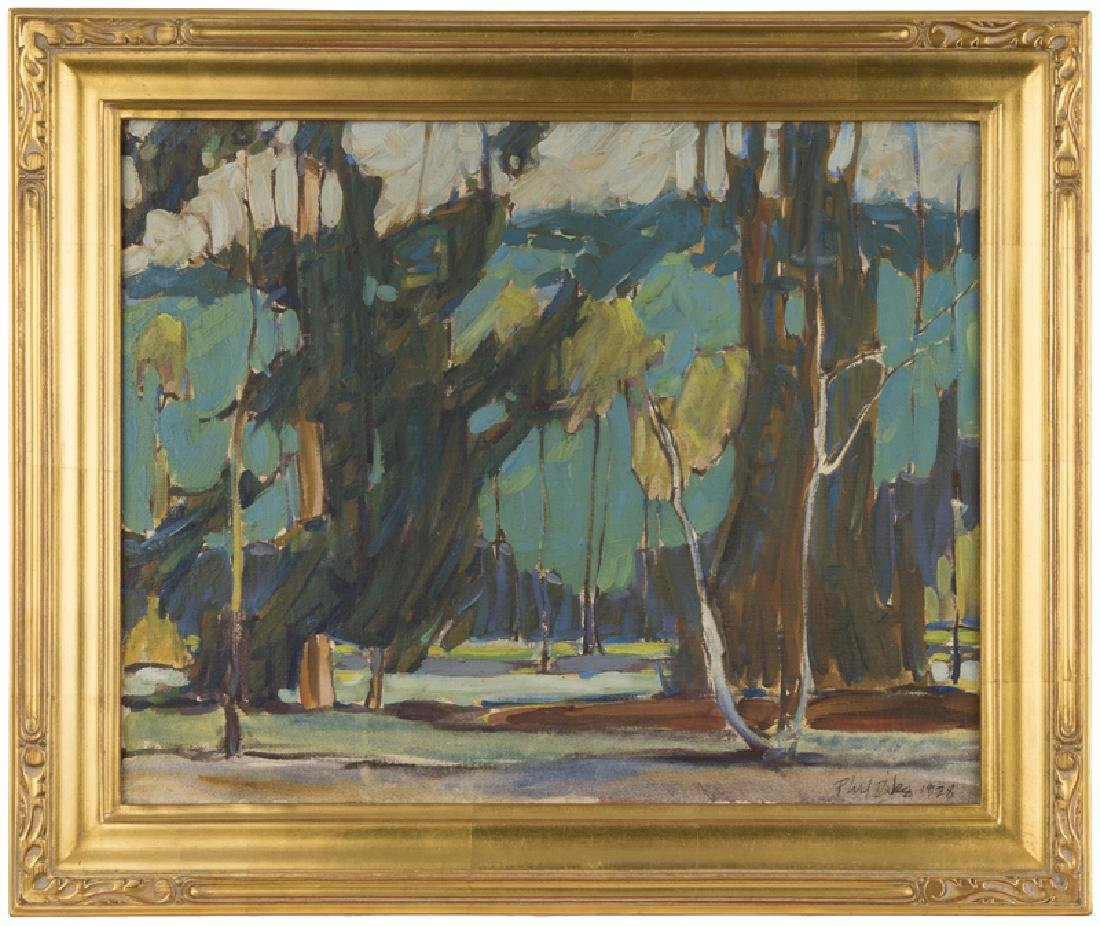 Phil Latimer Dike N.A. (1906 - 1990 Claremont, CA) - 2