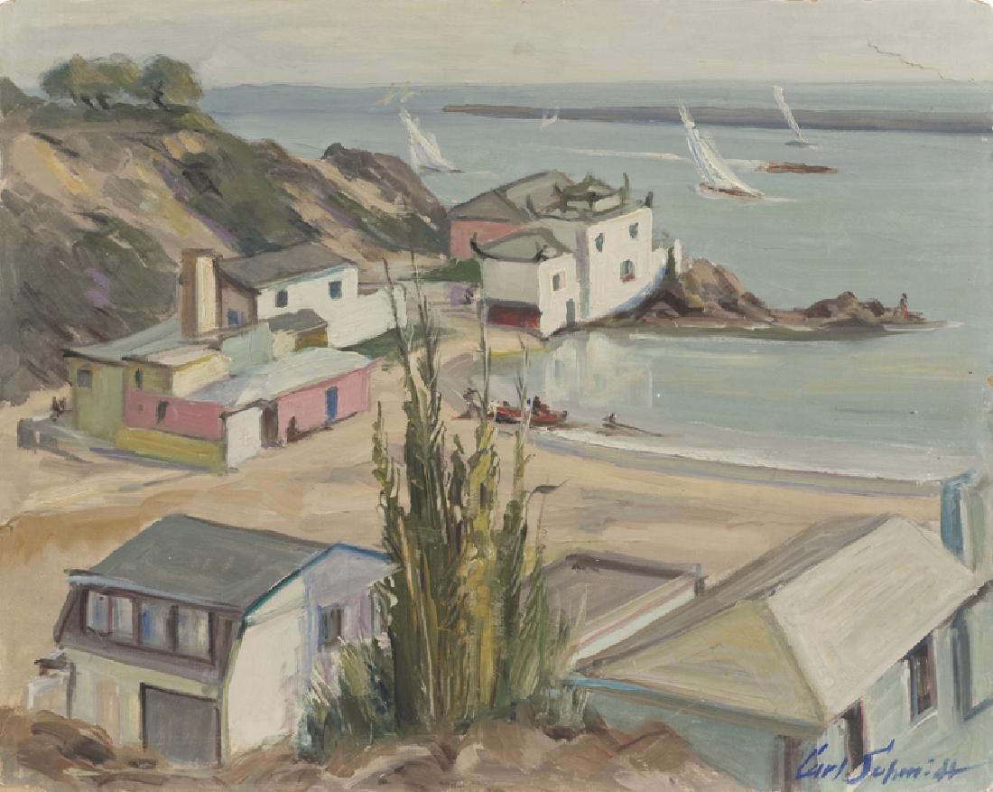 Carl Schmidt (1885 - 1969 San Bernardino, CA)