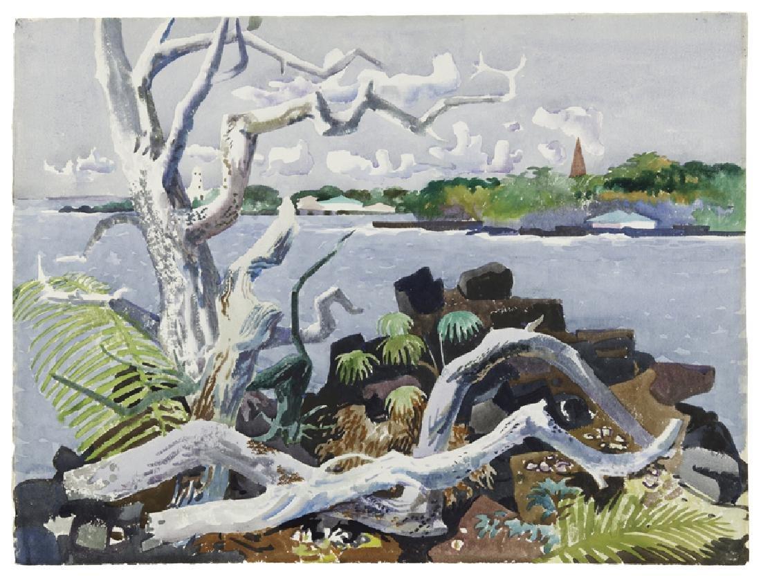 Millard Sheets N.A. (1907 - 1989 Gualala, CA)