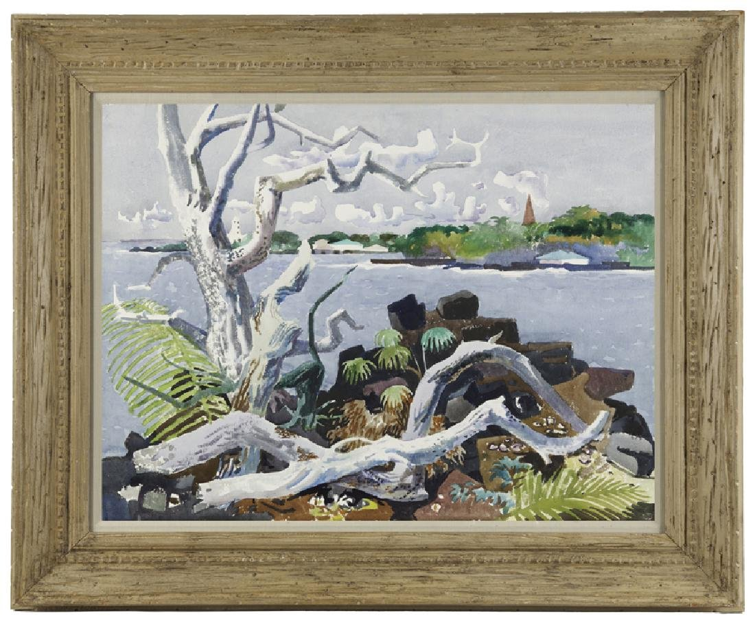 Millard Sheets N.A. (1907 - 1989 Gualala, CA) - 2