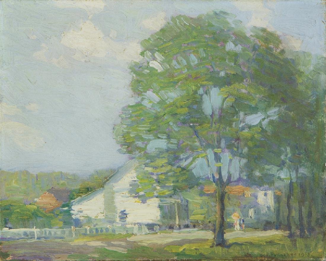 John Fulton Folinsbee (1892 - 1972 New Hope, PA)
