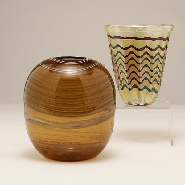 1083: ITALIAN VENINI MURANO CARLO SCARPA ART GLASS VASE