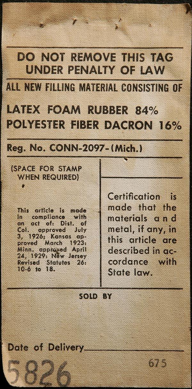 1092: CHARLES EAMES SOFA COMPACT HERMAN MILLER ARMCHAIR - 2