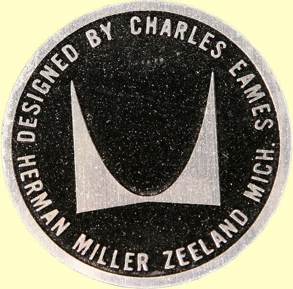 1092: CHARLES EAMES SOFA COMPACT HERMAN MILLER ARMCHAIR - 3