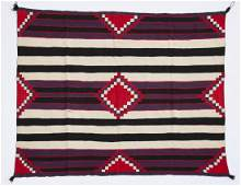 A Navajo Germantown third phase chief's blanket
