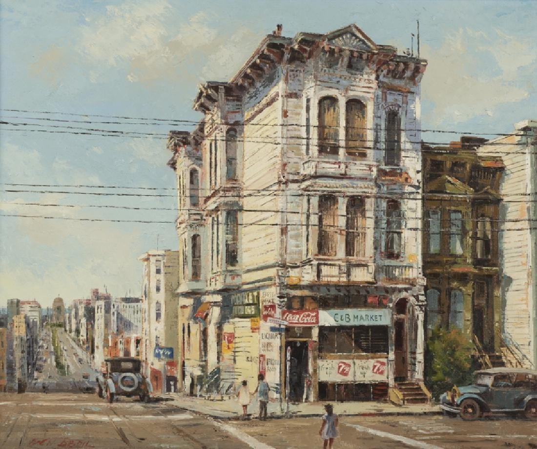 Ben Abril (1923 - 1995 Los Angeles, CA)
