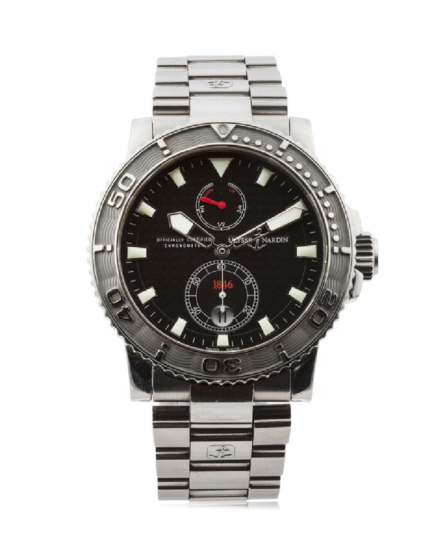An Ulysse Nardin Marine Diver Chronometer wristwatch