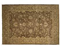 A Persianstyle area rug