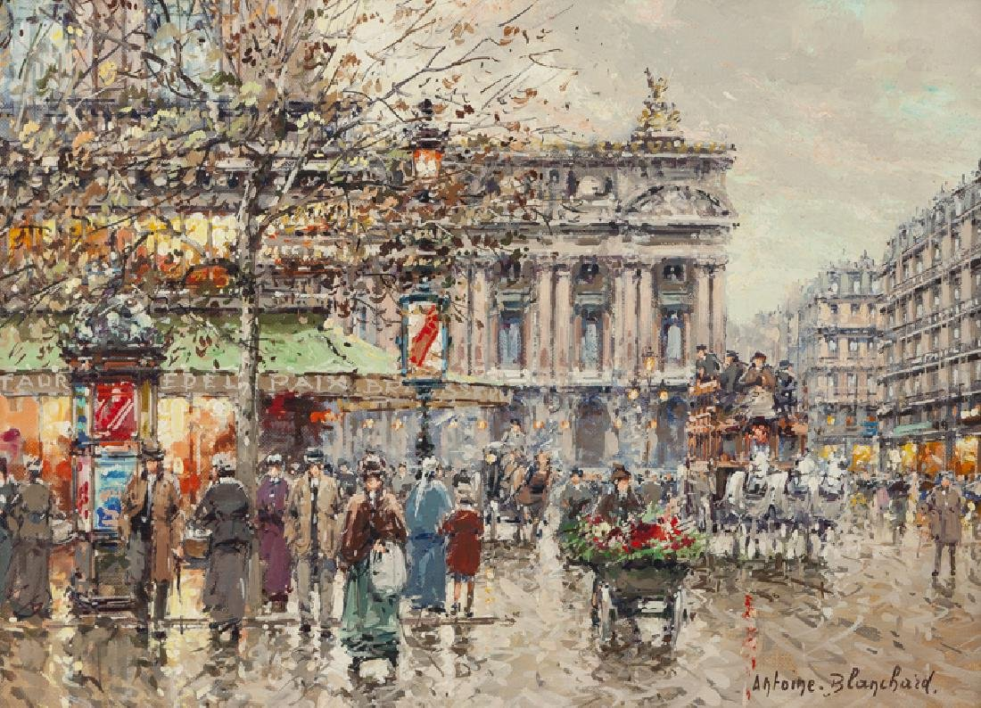 Antoine Blanchard (1910 - 1988 French)