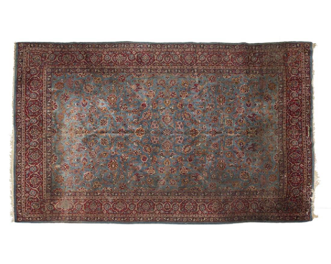 A Persian Isfahan area rug