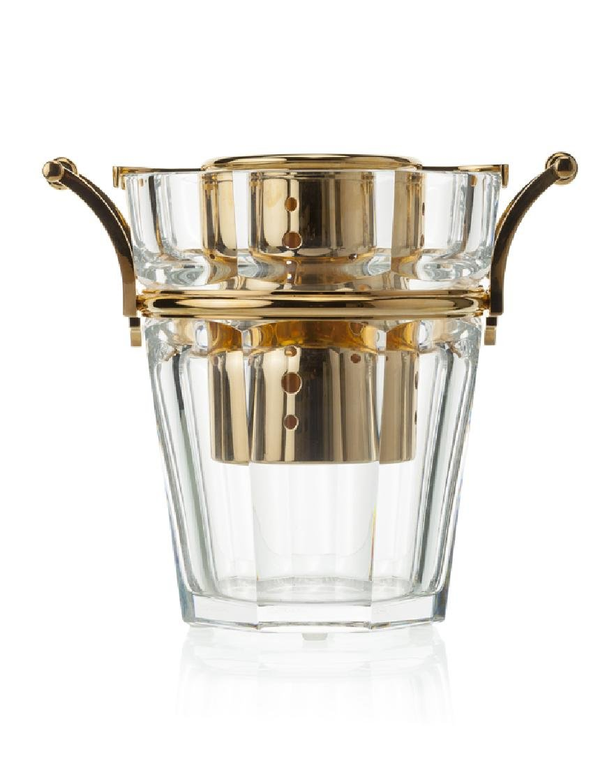 A Baccarat ''Moulin Rouge'' wine/champagne cooler
