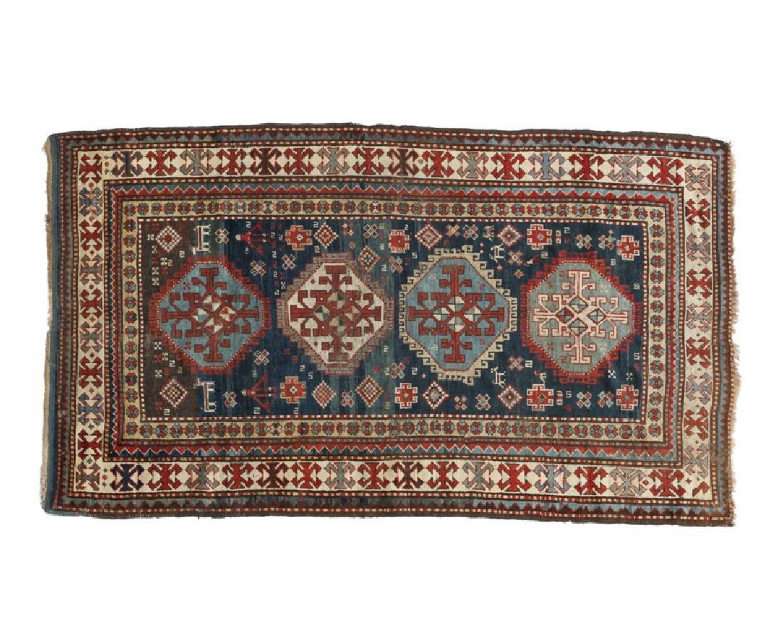 A Caucasian geometric rug