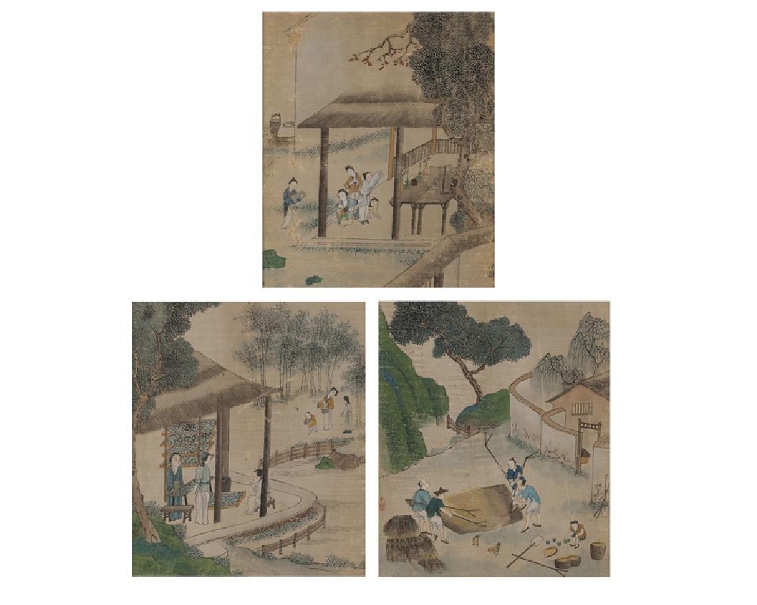 Second half 19th Century Chinese School