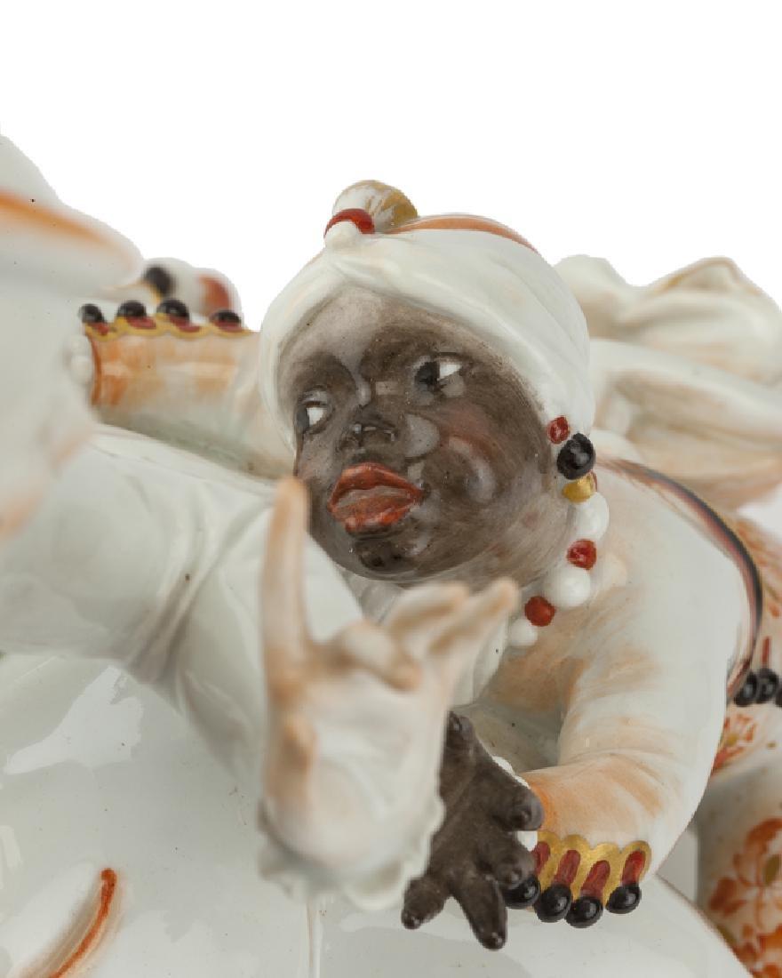 A Meissen porcelain figural group, Paul Scheurich - 3