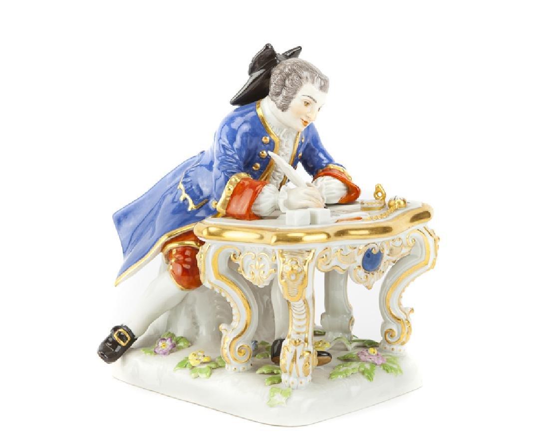 A Meissen porcelain figure