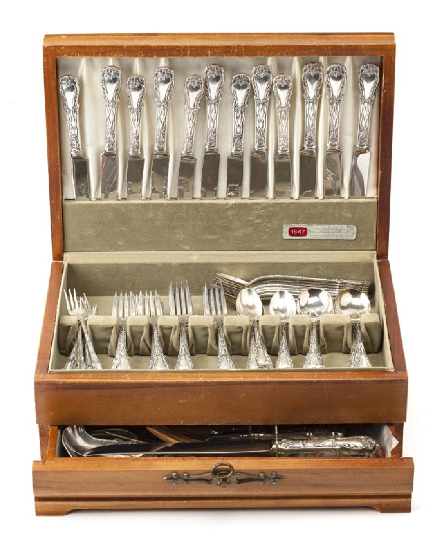 A S. Kirk and Sons ''Quadrille'' sterling flatware