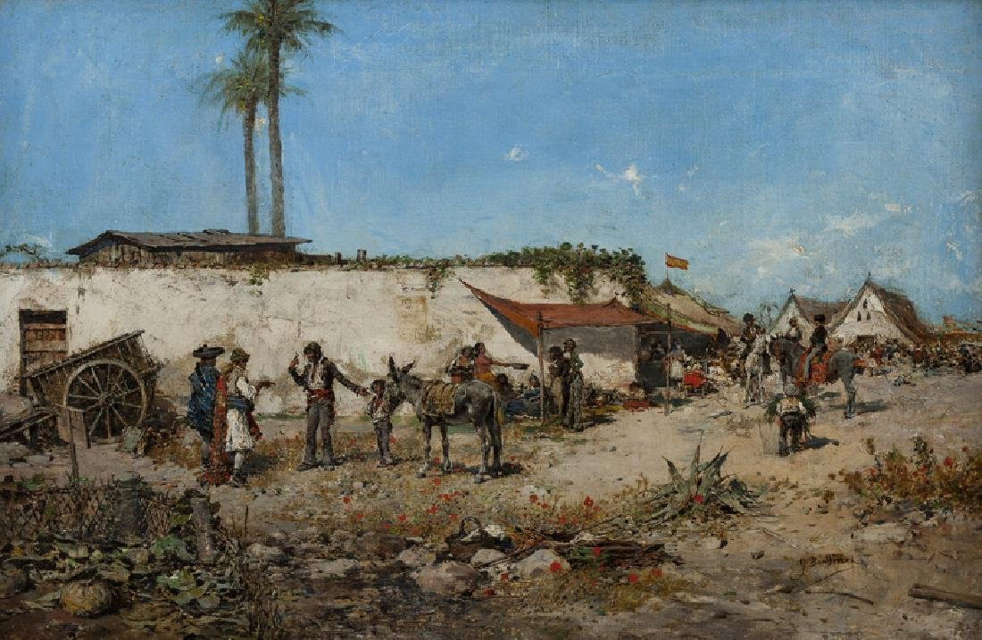 Jose Benlliure Y Gil (1855 - 1937 Spanish)