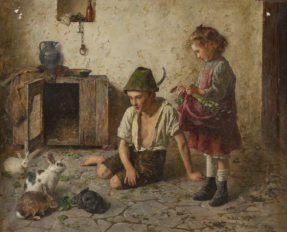 Edmund Adler (1876 - 1965 Austrian)