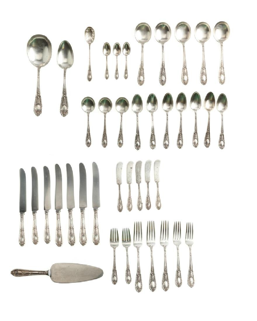 An International Silver ''Fontaine'' partial flatware