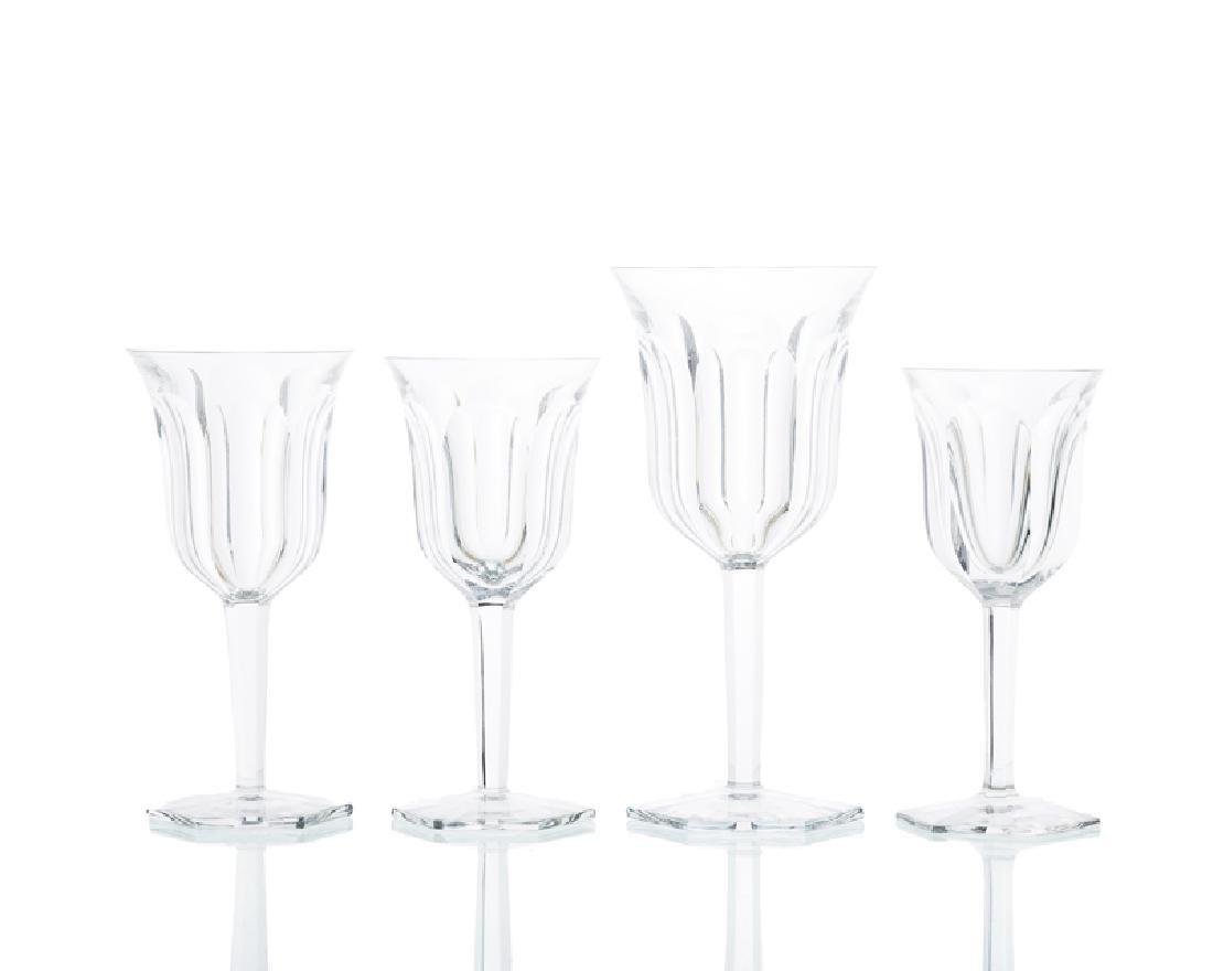 A Baccarat ''Malmaison'' crystal stemware service - 2