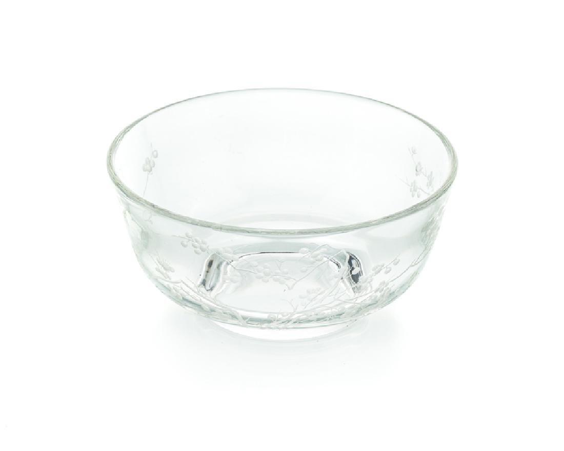 A Steuben ''Plum Blossom'' bowl - 2