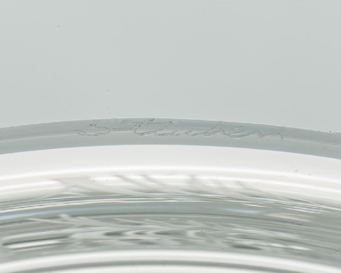 A Steuben ''Plum Blossom'' bowl - 3