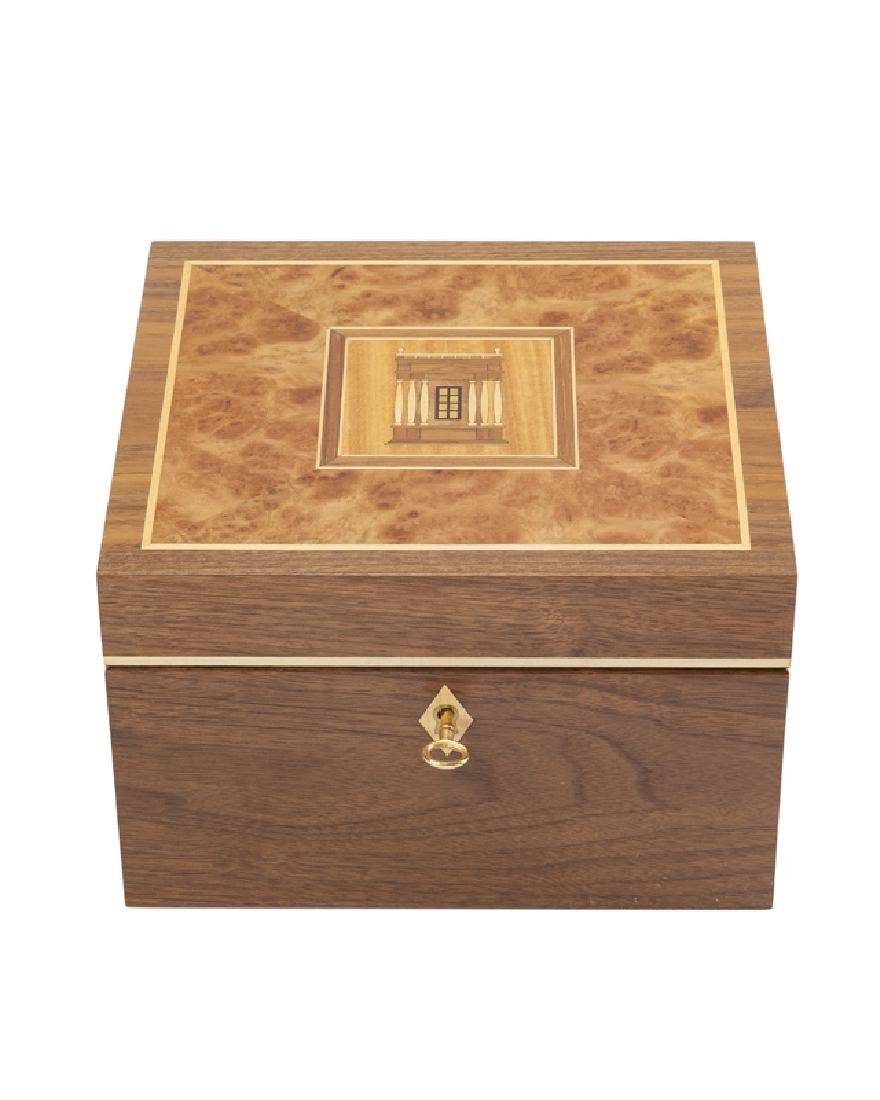 A David Linley for Alfred Dunhill ''Villa'' jewelry box